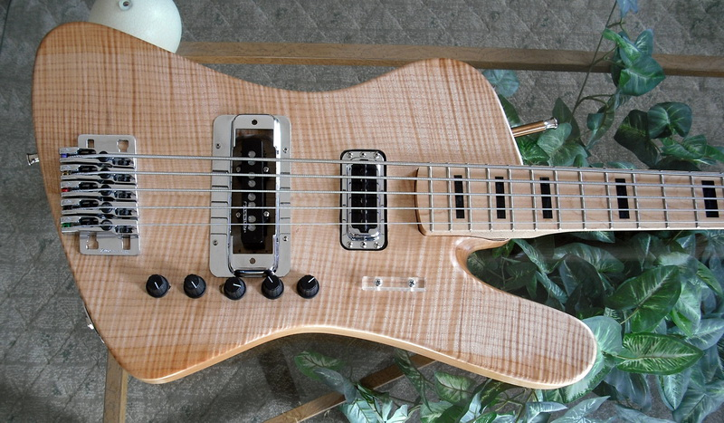 5 string Fender-Bird Bass